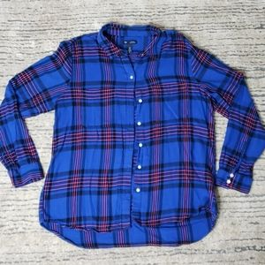 Gap Blue Flannel